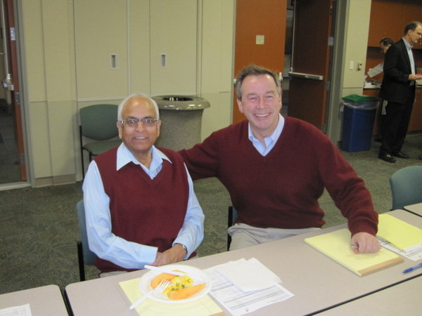 Drs. Kanti Rai and John Gribben
