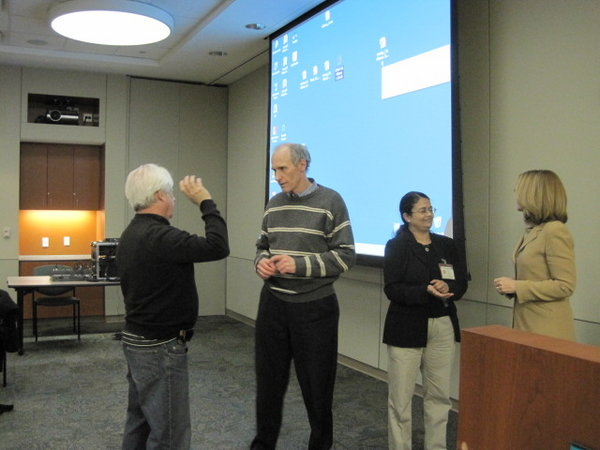 Drs. Neil Kay, Carl June, Chitra Hosing and Elizabeth Shpall
