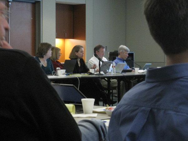 Drs. Helen Heslop, Elizabeth Shpall, Catherina Bollard, John Gribben and David Maloney