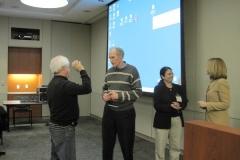 Drs. Neil Kay, Carl June, Chitra Hosing and Elizabeth Shpall