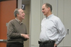 Drs. Nicholas Chiorazzi and Tom Kipps
