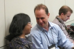 Drs. Deepa Sampath, George Kalin and Laurence Cooper