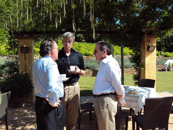 Drs. Hakan Mellstedt, David Maloney and Zeev Estrov