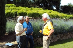 Drs. Kanti Rai, Carlo Croce and Bill Plunkett