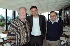 Drs. Michael Keating, Clemens Martin-Wendtner and Zeev Estrov