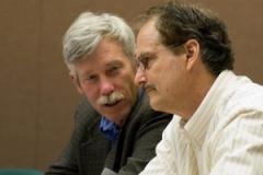 David Maloney and Dr. Thomas Kipps (Scientific Advisory Board)