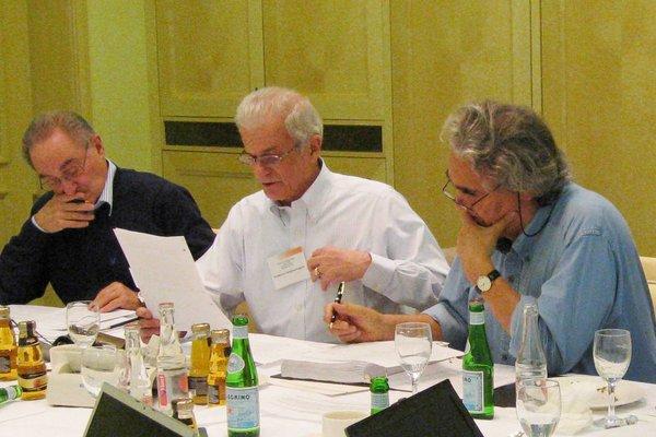 Drs. Daniel Catovsky, Federico Caligaris-Cappio and Carlo Croce