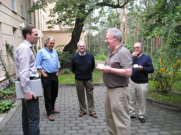 Drs. Thorsten Zenz, Croce, Caligaris-Cappio, Michael Keating and Catovsky