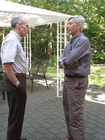 Drs. Carl June and David Maloney