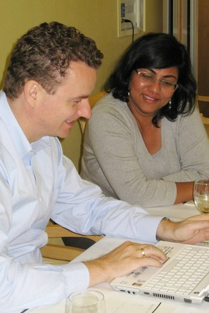 Drs. Clemens-Martin and Deepa Sampath